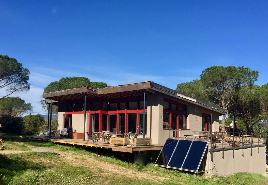 Construction d 39 une maison passive en b ton de chanvre sur for Cout d une construction neuve